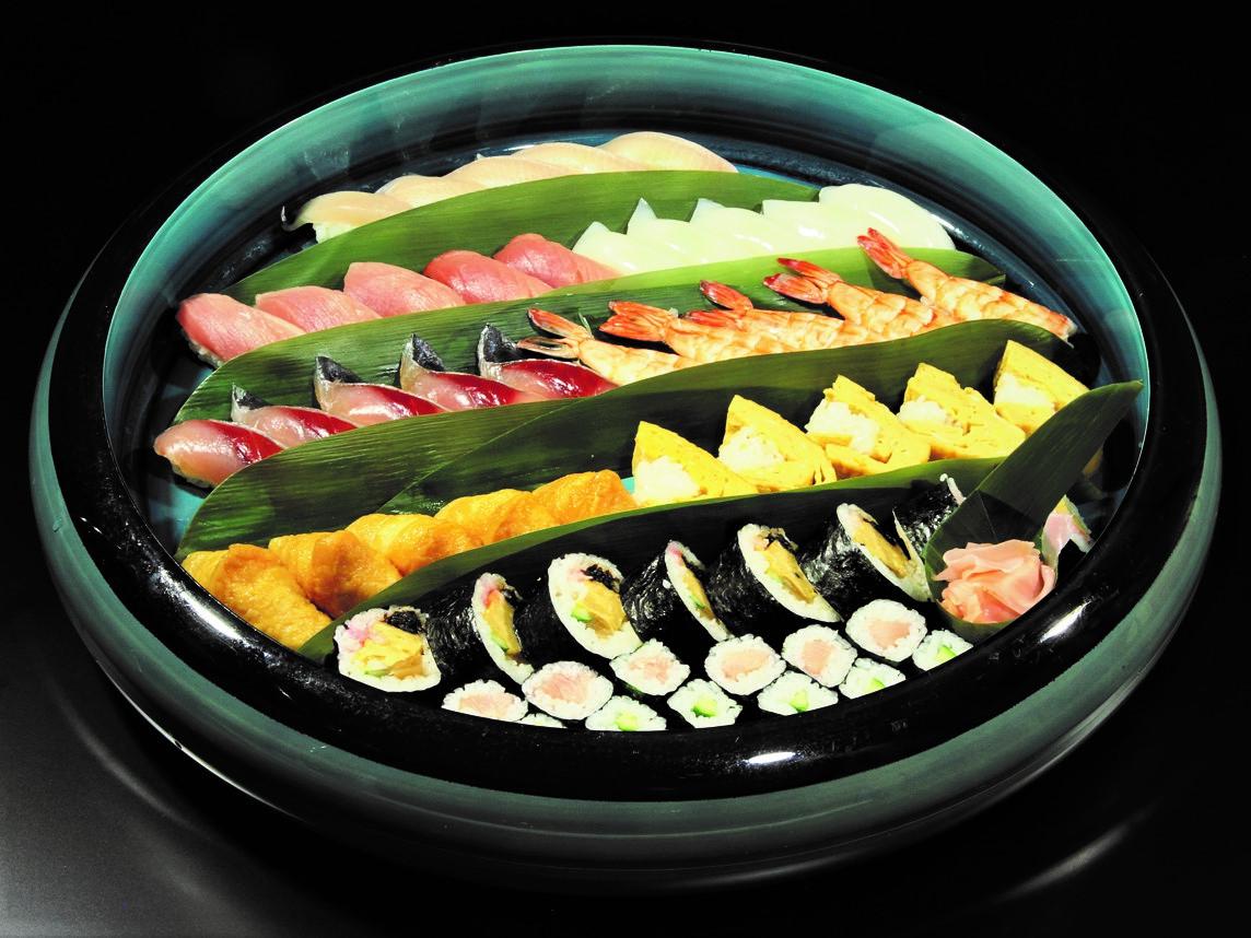 補正済寿司